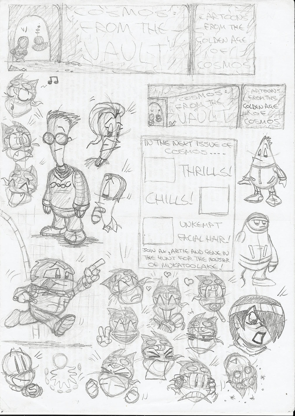 Character sketchbook 3