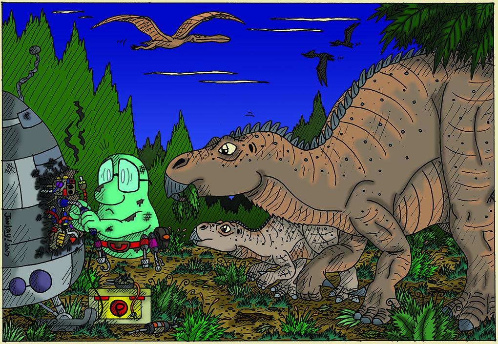 A Jurassic lark!