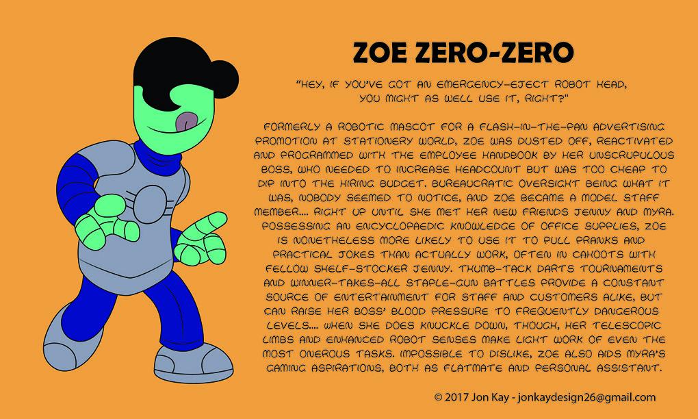 Meet: Zoe Zero-Zero!