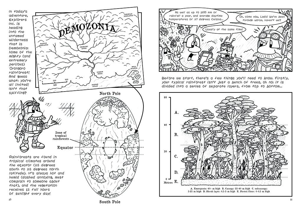 Rainforest, Ho! 5