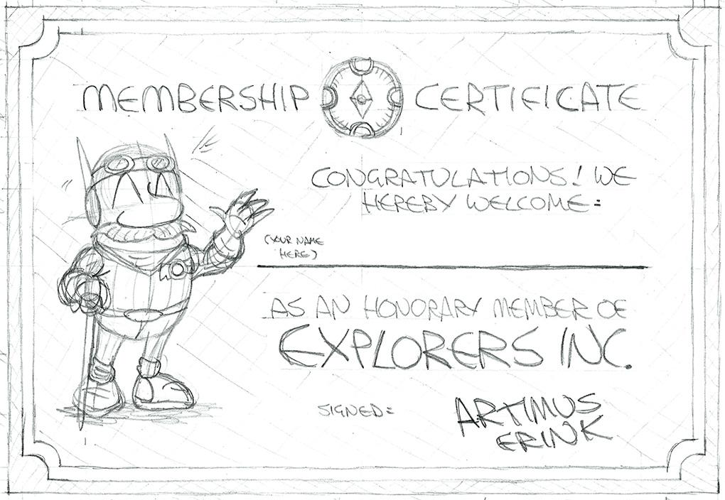 Membership certificate 1