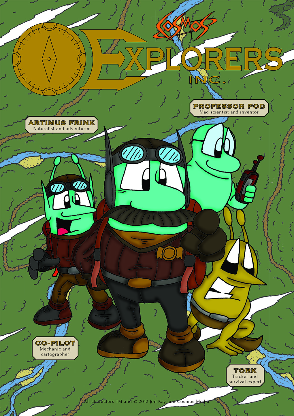 Explorers Inc Adventure Pack poster