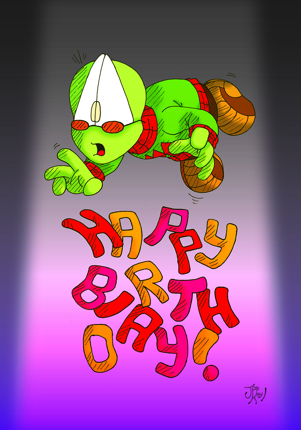 Birthday art 2017!