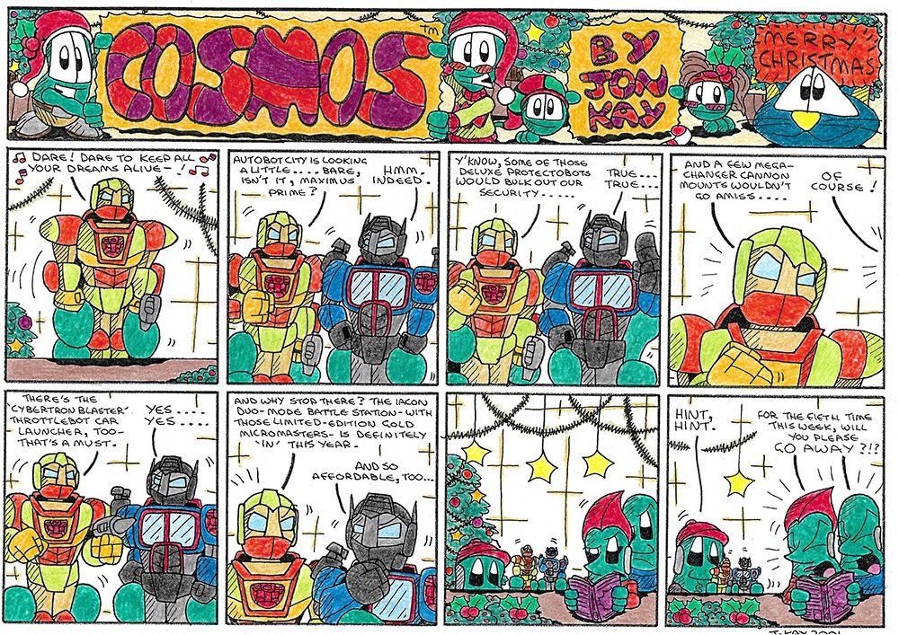 Another MOS 8: A very Transformative Christmas (2001)